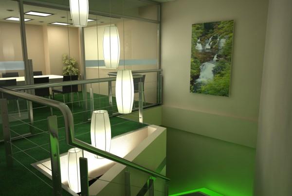 ECOLEC Stairwell Green