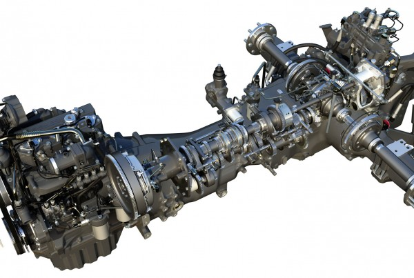 AGCO engine transmission
