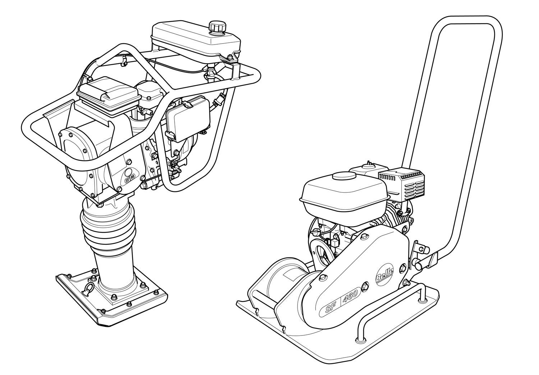 Belle technical illustration